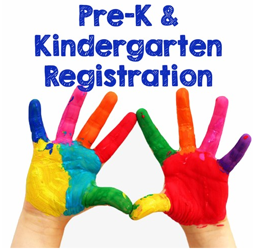 Kindergarten & Pre-School Registration for 2020-2021 is OPEN
