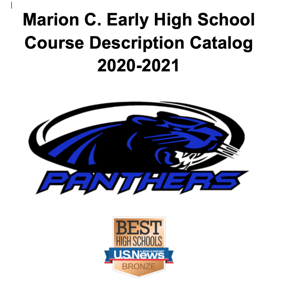 2020-2021 High School Course Description Catalog
