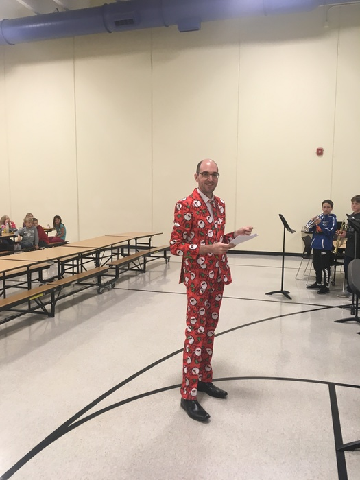 Mr. Curtis, The Christmas Maestro