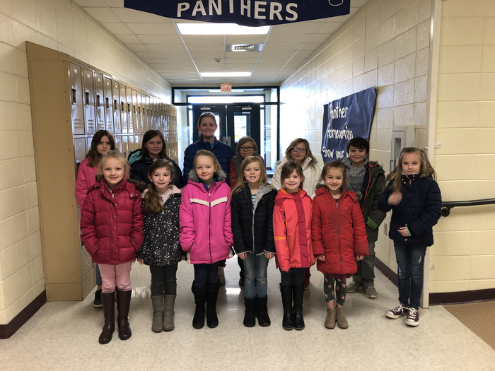 January MCE Elementary Students of the Month