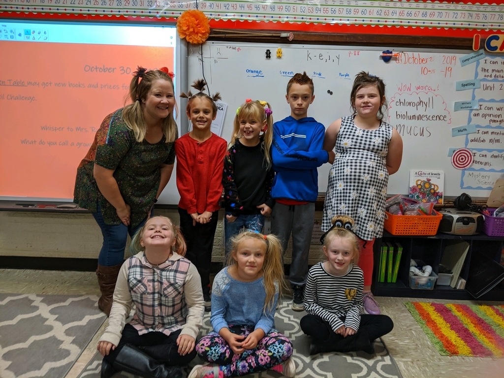 2nd Grade CrAzY HaIr DaY