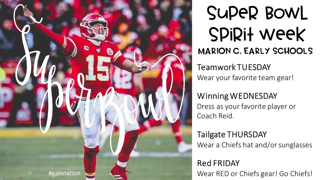 Super Bowl Spirit Week.
