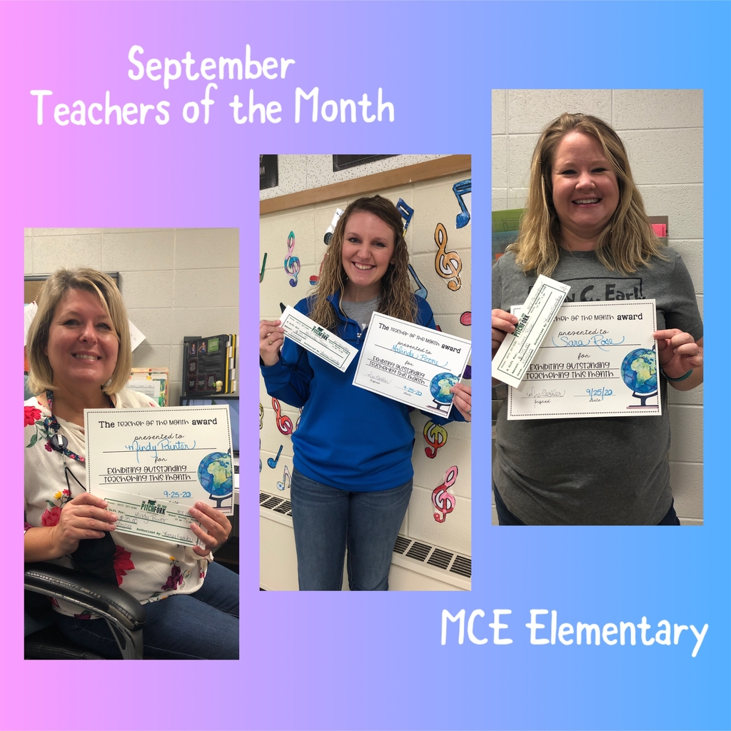September Teachers of the Month